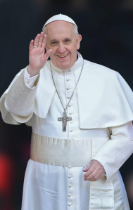 Pope Francis in March of 2013