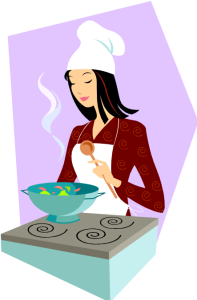 Food_Cooking Girl