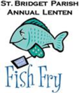 St Bridget annual fish fry logo