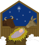 Christ_Jesus in manger